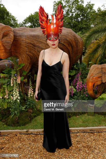 Daisy Lowe attends The Animal Ball, presented by Elephant Family at Lancaster House on June 13, 2019 in London, England.