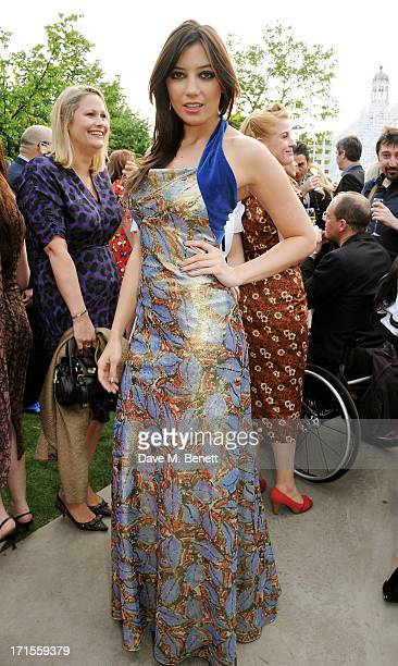 Daisy Lowe attends the annual Serpentine Gallery Summer Party cohosted by L'Wren Scott at The Serpentine Gallery on June 26 2013 in London England