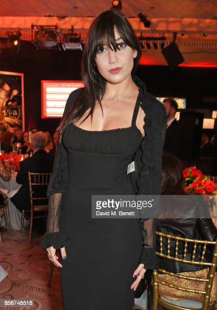 Daisy Lowe attends The Art Of Wishes Gala at The Dorchester on October 2 2017 in London England