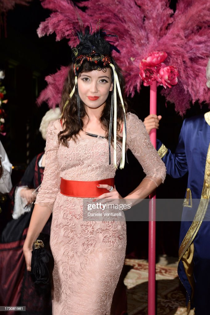 Daisy Lowe attends the 'Ballo in Maschera' to Celebrate Dolce&Gabbana Alta Moda at Palazzo Pisani Moretta on July 6, 2013 in Venice, Italy.