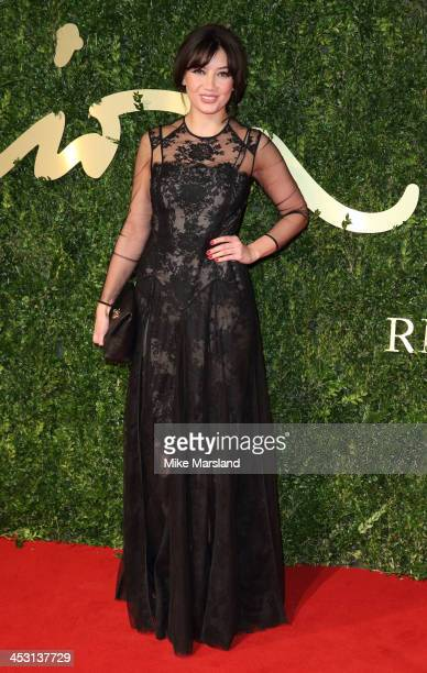Daisy Lowe attends the British Fashion Awards 2013 at London Coliseum on December 2, 2013 in London, England.