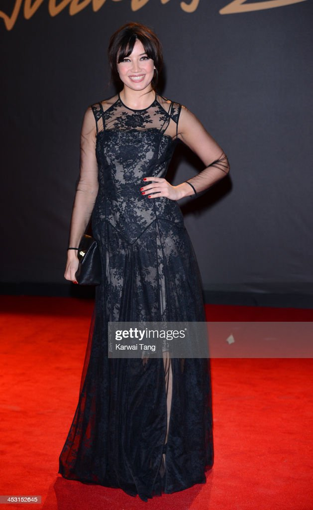 Daisy Lowe attends the British Fashion Awards 2013 held at the London Coliseum on December 2, 2013 in London, England.