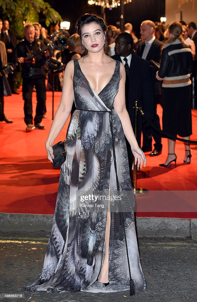 Daisy Lowe attends the British Fashion Awards 2015 at London Coliseum on November 23, 2015 in London, England.