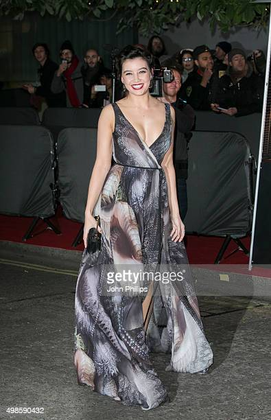 Daisy Lowe attends the British Fashion Awards 2015 at London Coliseum on November 23 2015 in London England