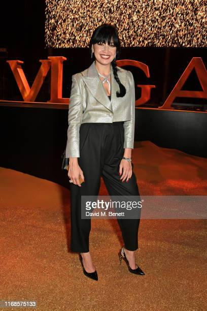 Daisy Lowe attends the Bvlgari Serpenti Seduttori launch at the Roundhouse on September 15 2019 in London England