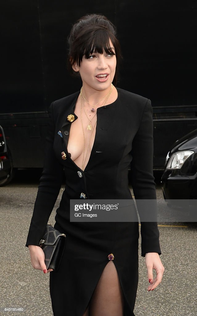2c8786774f Daisy Lowe attends the Christopher Kane Fashion show on Day 4 of ...