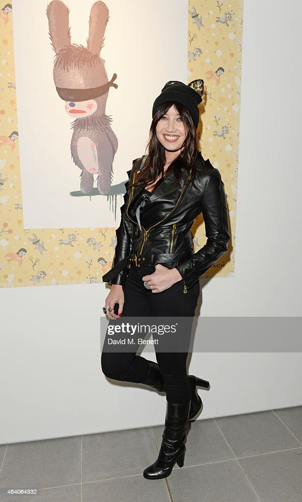 Daisy Lowe attends the Coach X Serpentine The Future Contemporaries Party at The Serpentine Sackler Gallery on February 21, 2015 in London, England.