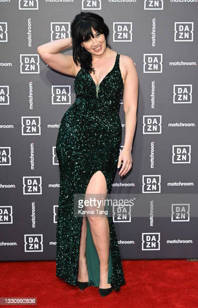 Daisy Lowe attends the Dazn x Matchroom VIP Launch Event at Kings Cross on July 27, 2021 in London, England.