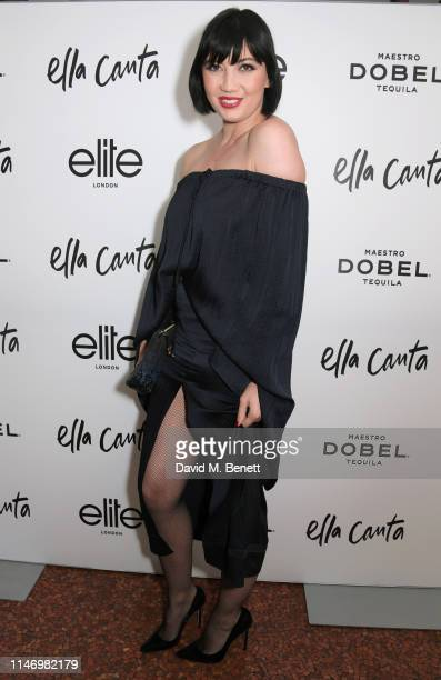 Daisy Lowe attends the Elite London 10 year anniversary party at Ella Canta in association with Maestro Dobel Tequila on May 30 2019 in London England