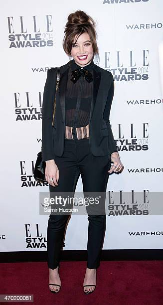 Daisy Lowe attends the Elle Style Awards 2014 at one Embankment on February 18 2014 in London England