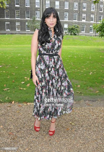 Daisy Lowe attends the Erdem front row during London Fashion Week September 2019 at Grays Inn Gardens on September 16, 2019 in London, England.