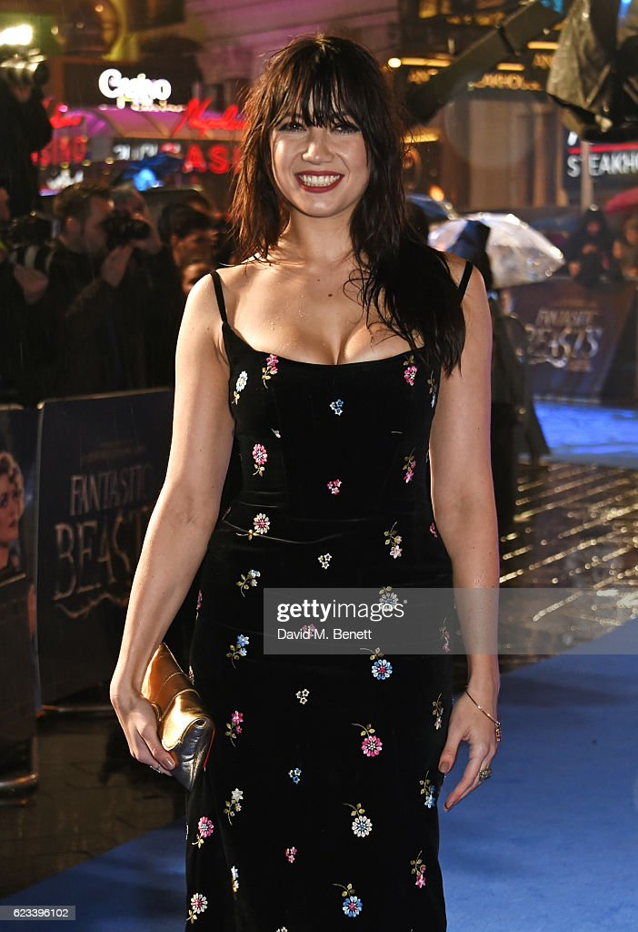 Daisy Lowe attends the European Premiere of 'Fantastic Beasts And Where To Find Them' at Odeon Leicester Square on November 15, 2016 in London, England.