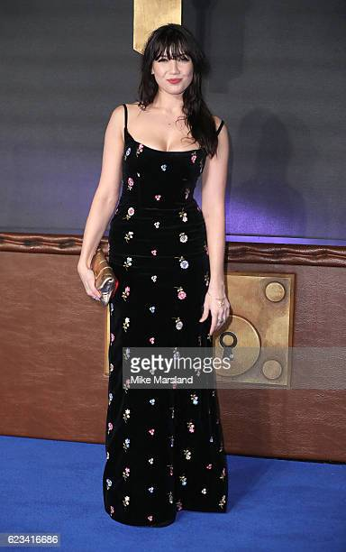 Daisy Lowe attends the European premiere of 'Fantastic Beasts And Where To Find Them' at Odeon Leicester Square on November 15 2016 in London England