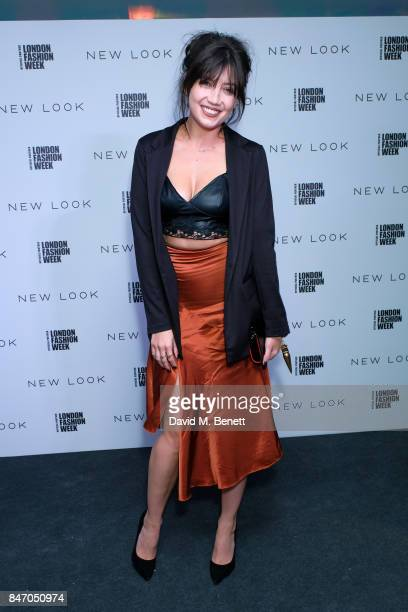 Daisy Lowe attends the exclusive New Look and British Fashion Council party launching London Fashion Week September 2017 at The Store Studios on...