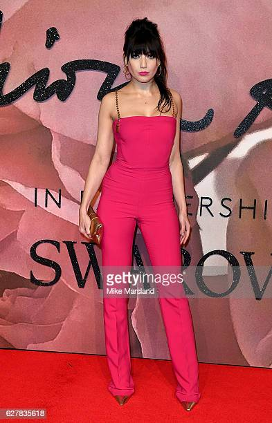 Daisy Lowe attends The Fashion Awards 2016 on December 5 2016 in London United Kingdom
