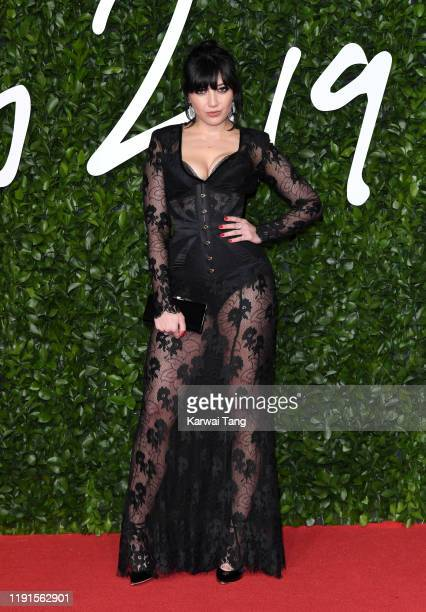 Daisy Lowe attends The Fashion Awards 2019 at the Royal Albert Hall on December 02, 2019 in London, England.