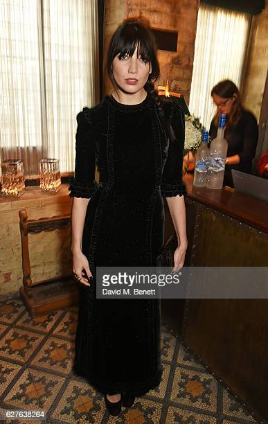 Daisy Lowe attends The Fashion Awards in partnership with Swarovski nominees' lunch hosted by the British Fashion Council with Grey Goose at Little...