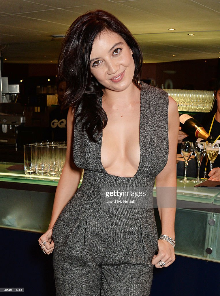 Daisy Lowe attends the GQ Men Of The Year awards in association with Hugo Boss at The Royal Opera House on September 2, 2014 in London, England.