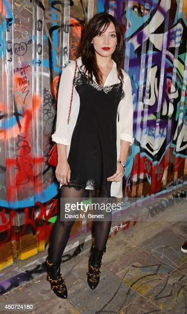 Daisy Lowe attends the Harvey Nichols presentation of #BEENTRILL# designer collaboration during London Collections Men at The Vaults on June 16 2014...