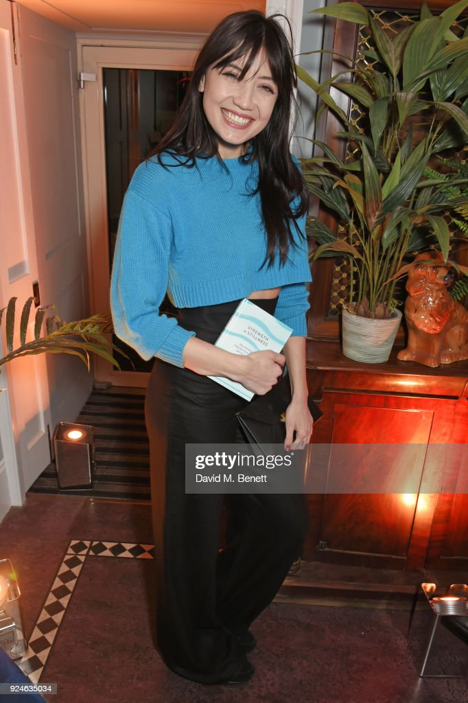 Daisy Lowe attends the launch of Bob Roth's 'Strength in Stillness' hosted by Stella McCartney and Liv Tyler at Wellington Arch on February 26, 2018 in London, England.