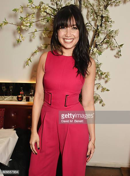 Daisy Lowe attends the launch of London Fashion Weekend in association with the British Fashion Council at Gallery Mess Saatchi Gallery on September...