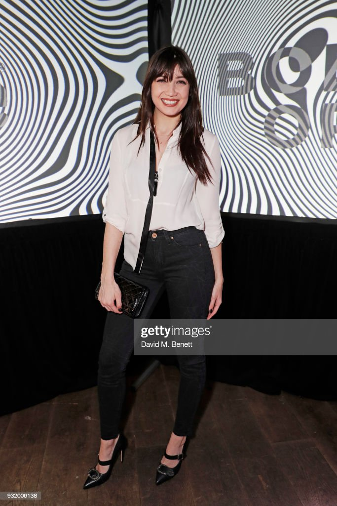 Daisy Lowe attends the Lee Body Optix by Lee Jeans dinner at The London EDITION on March 14, 2018 in London, England.