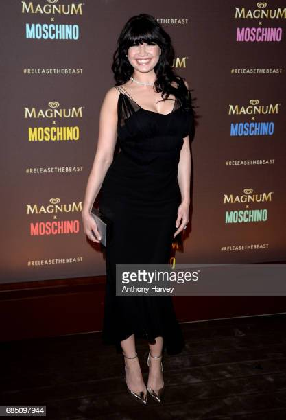 Daisy Lowe attends the Magnum party during the 70th annual Cannes Film Festival at Magnum Beach on May 18 2017 in Cannes France