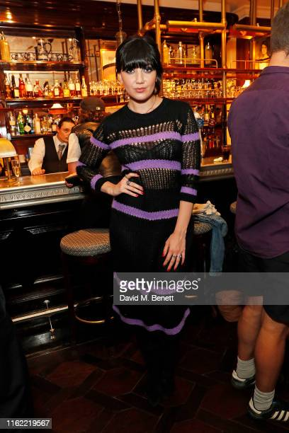 Daisy Lowe attends the #MOVINGLOVE dinner hosted by Felicity Jones Derek Blasberg Katie Grand at Bellanger on July 15 2019 in London England