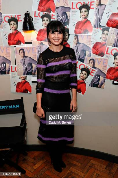 Daisy Lowe attends the #MOVINGLOVE screening hosted by Derek Blasberg Katie Grand at Screen on the Green on July 15 2019 in London England