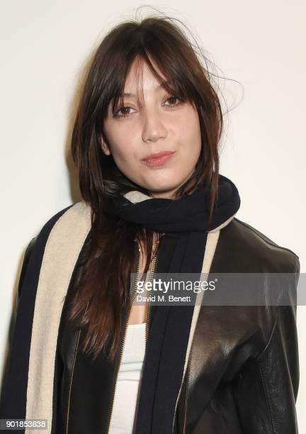 Daisy Lowe attends the Oliver Spencer LFWM AW18 Catwalk Show at the BFC Show Space on January 6 2018 in London England