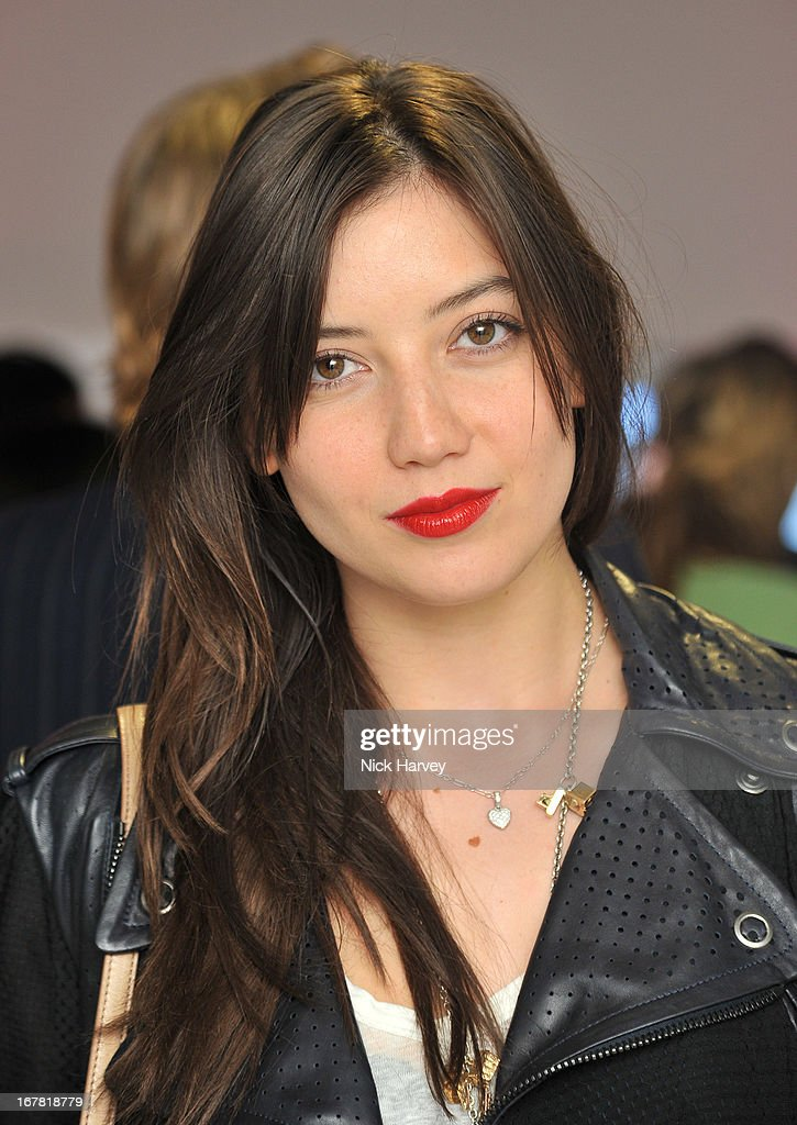 Daisy Lowe attends the opening of the Conde Nast College of Fashion and Design on April 30, 2013 in London, England.