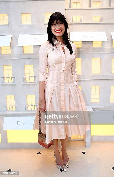 Daisy Lowe attends the opening of the House Of Dior on New Bond Street on June 8 2016 in London England