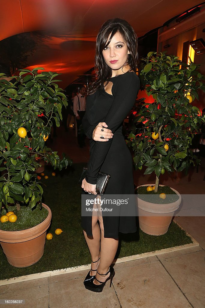 Daisy Lowe attends The Pucci Dinner Party At Monsieur Bleu In Paris on September 28, 2013 in Paris, France.