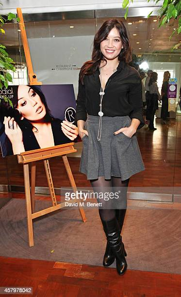 Daisy Lowe attends the Rodial Make Up Press Day as she is announced as the new face of Rodial at Harvey Nichols on October 28 2014 in London England