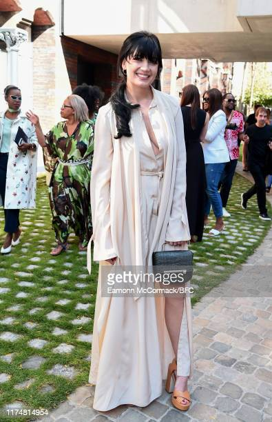 Daisy Lowe attends the Roland Mouret show during London Fashion Week September 2019 on September 15, 2019 in London, England.