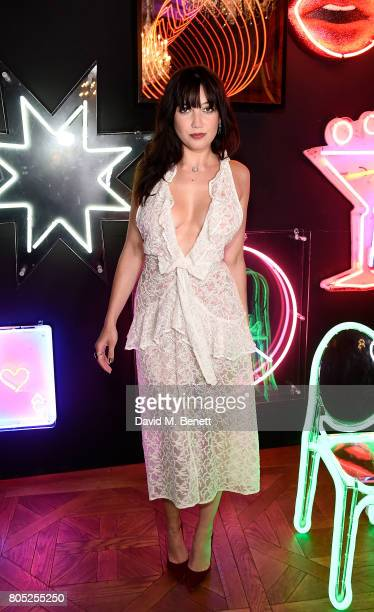 Daisy Lowe attends the Tinder Pride 2017 Party at The Ned on July 1 2017 in London England The party hosted by Tinder at The Ned for...