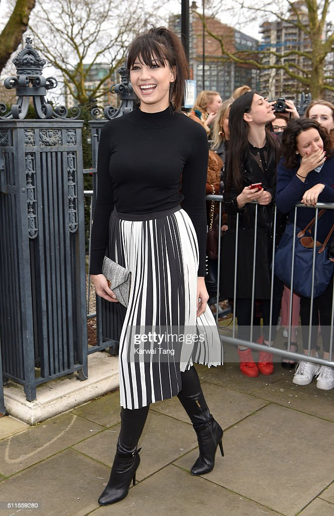 Topshop Unique - Arrivals - LFW AW16