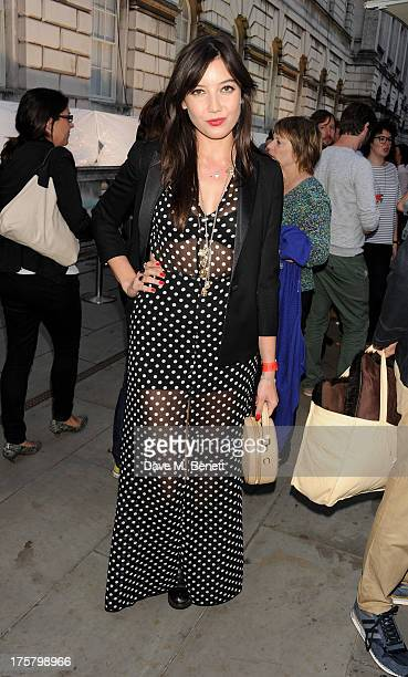 Daisy Lowe attends the World Premiere of 'About Time' at Somerset House on August 8 2013 in London England