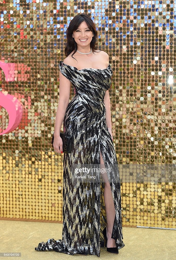 Daisy Lowe attends the World Premiere of 'Absolutely Fabulous: The Movie' at Odeon Leicester Square on June 29, 2016 in London, England.
