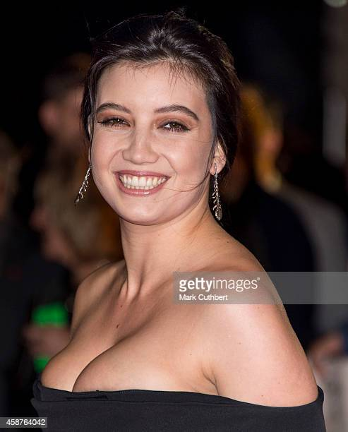 Daisy Lowe attends the World Premiere of 'The Hunger Games Mockingjay Part 1' at Odeon Leicester Square on November 10 2014 in London England