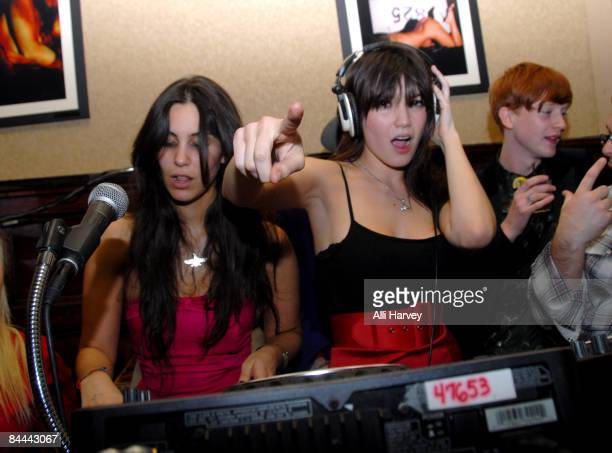 Daisy Lowe guest dj's at The Plumm on January 24 2009 in New York City
