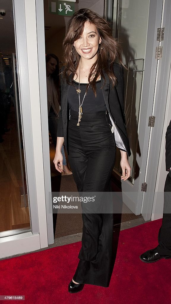 Daisy Lowe is seen leaving HIGH flagship store, Mayfair on March 19, 2014 in London, England.