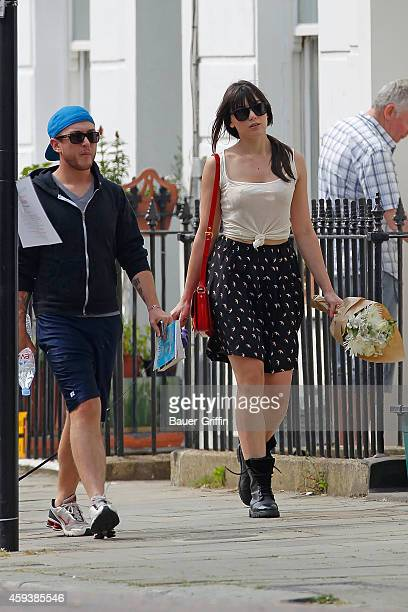 Daisy Lowe is seen on May 29 2012 in London United Kingdom
