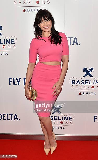 Daisy Lowe joins Delta Air Lines for 'Baseline Sessions' a private karaoke event to celebrate London's most iconic tennis tournament at the W...