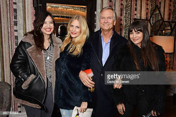 Daisy Lowe Poppy Delevingne Charles Delevingne and Zara Martin attend a VIP screening of 'St Vincent' hosted by Poppy Delevingne at The Covent Garden...
