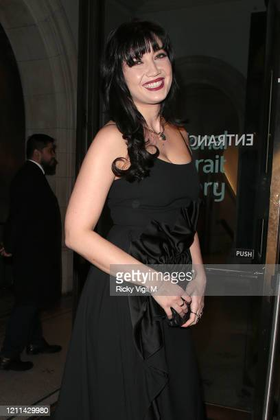 Daisy Lowe seen attending the National Portrait Gallery fundraiser on March 09 2020 in London England
