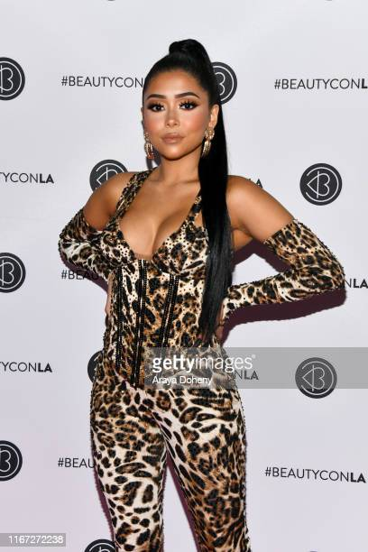 Daisy Marquez attends Beautycon Festival Los Angeles 2019 at Los Angeles Convention Center on August 10 2019 in Los Angeles California
