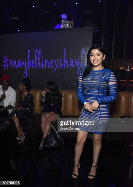 Daisy Marquez attends Maybelline New York Celebrates First Ever Cobranded Product Collection With Beauty Influencer Shayla Mitchell at 1OAK on August...