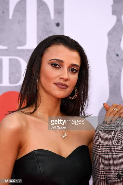 Daisy Maskell attends The BRIT Awards 2019 held at The O2 Arena on February 20 2019 in London England