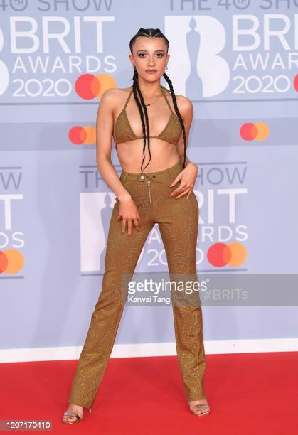 Daisy Maskell attends The BRIT Awards 2020 at The O2 Arena on February 18 2020 in London England